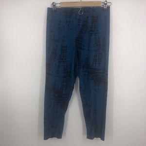 Bryn Walker Tie Dye Capri Pant Large